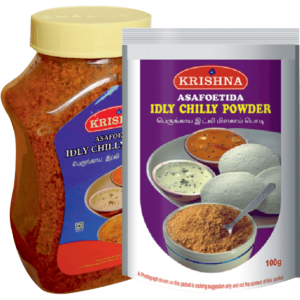 Asafoetida-Idly-Chilli-Powder